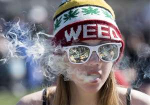 """Thousands sent up a cheer and smoked marijuana at the stroke of 420 p.m. on Wednesday in San Francisco's Golden Gate Park. They gathered at the park's """"Hippie Hill"""" to toke up, eat and drink the afternoon away into the night. A plane dragging a banner encouraging attendees to """"smoke weed"""" circled overhead, while unlicensed vendors set up tables and makeshift tents to sell all types and strains of bud, not to mention T-shirts, pipes and food. A group of Californian teenagers ritualistically smoked marijuana every day at 420 pm. The ritual spread, and soon 420 became code for smoking marijuana. Eventually 420 was converted into 420 for calendar purposes, and the day of celebration was born. This year's celebrations of all things marijuana throughout the U.S. came amid loosening restrictions and increasing tolerance for the plant's use from Alaska to Massachusetts. Here's how people celebrated the marijuana day in United States - India Tv"""