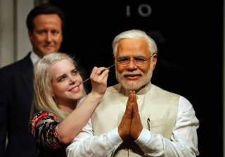 "General Manager of Madame Tussauds London, Edward Fuller, said, ""We are delighted that Mr Modi was able to see this very figure in India last week, and to welcome him to Madame Tussauds London."