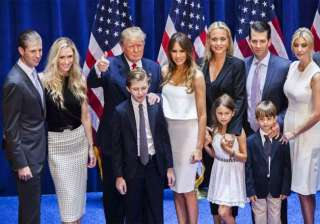 Donald Trump has five children. He has three children, Donald Jr., Ivanka and Eric from his first wife. Tiffany is his child from his second wife. He and his third wife also have a son together named Barron William Trump.