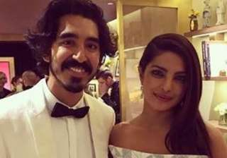 Dev Patel who walked the red carpet with his mother Anita Patel was clicked with Desi girl Priyanka Chopra at the main event.