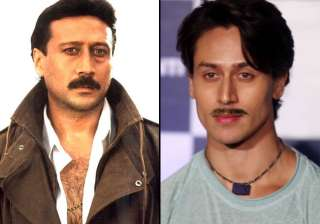 After his two consecutive hits 'Heropanti' and 'Baaghi', actor Tiger Shroff, recently shot a song for his forthcoming film 'Munna Michael', in which the actor is resembling very much to his father Jackie Shroff.