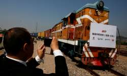 First Britain-China freight train completes round trip- India Tv