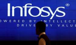 Infosys shares gained over 3 pc on the stock market