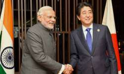 PM Modi congratulates Shinzo Abe for projected election win
