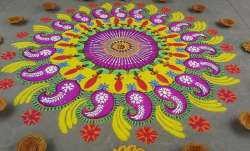Happy Diwali 2017: Beautiful Diwali Rangoli Designs, Ideas and Images for Decoration.