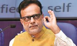 Finance Secretary Hasmukh Adhia