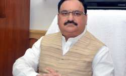 File pic of Union Health Minister JP Nadda