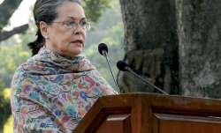 File photo of Congress president Sonia Gandhi.