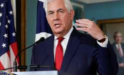 File pic - Secretary of State Rex Tillerson