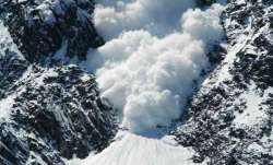 An avalanche struck a forward post in Gurez sector in
