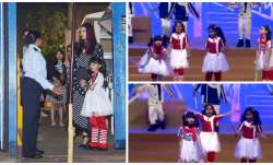 Aaradhya bewitches everyone with her cutesy moves