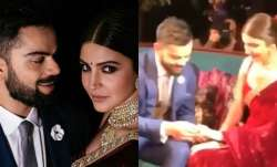 Anushka and Virat wore Sabysachi designed outfits