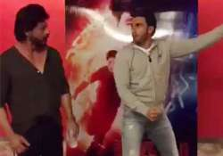 Ranveer and Shah Rukh