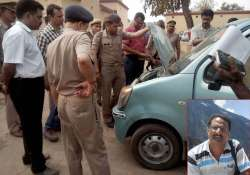 NIA officer Tanzil Ahmed was shot dead in April