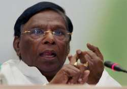 V Narayansamy, CM-designate of Puducherry