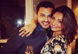 Dimpy Ganguly with hubby Rohit Roy