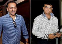 Did Sourav Ganguly stonewall Ravi Shastri's bid to become