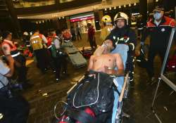 People injured after a blast in Taiwan train