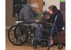 Elderly couple separated by health care after 62 years of