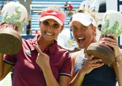 Sania Mirza moves alone to top spot in WTA women's