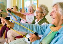 Laughter-based exercise may boost health in the elderly,