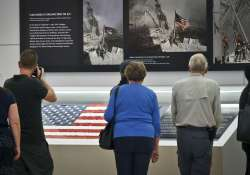 9/11 flag returns to ground zero after disappearing for 15