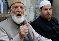 Naim is son of Syed Geelani, who leads hardline faction of