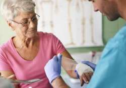 wounds take longer to heal in old people