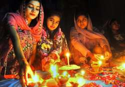 Late Diwali celebration