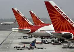 Air India aircraft parked at the Delhi airport. File pic