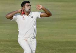 Ashwin bowls during the 4th day of test match between India- India Tv