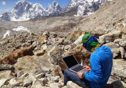 Mount Everest regions, free wi-fi