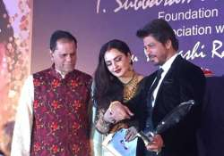 Shah Rukh Khan honoured with Yash Chopra Award