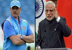 Ravi Shastri likens BJP's UP win to 'Tracer Bullet',