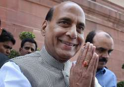 File pic of Union Home Minister Rajnath Singh- India Tv