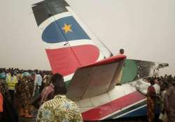 Plane crashes in South Sudan; all 49 passengers, crew
