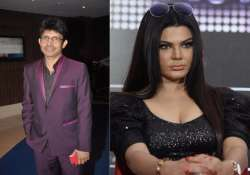 Rakhi Sawant gives an OPEN challenge to KRK, and guess