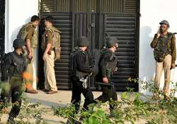 File pic of last month's Lucknow terror operation- India Tv