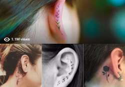 ear helix tattoos