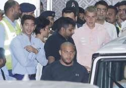 Justin Bieber arrives in India, Salman Khan's bodyguard