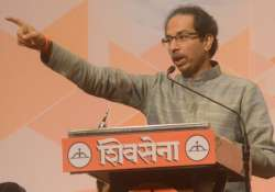 File pic - Sena chief Uddhav Thackeray
