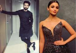 Alia Bhatt, Shahid Kapoor- India Tv