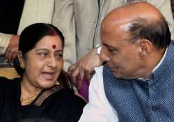 Rajnath Singh_Sushma Swaraj- India Tv