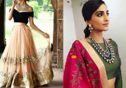 Indian dresses altered with western fashion bring out the