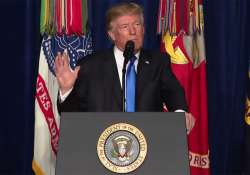 Donald Trump announces new Afghan strategy