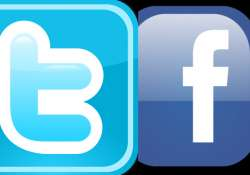 Twitter and Facebook logo