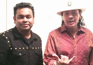 A R Rahman with Santana- India Tv