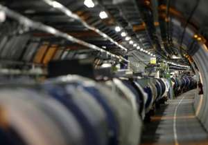 A May 31, 2007 file photo shows a view of the Large Hadron Collider- India Tv