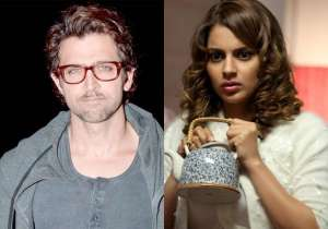 Hrithik Roshan and Kangana Ranaut- India Tv