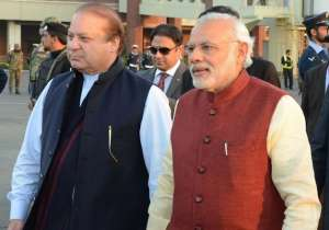 Nawaz Sharif and Narendra Modi- India Tv